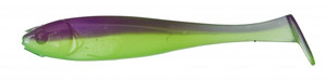 "ILLEX MAGIC SLIM SHAD 3"" PURPLE CHARTREUSE"