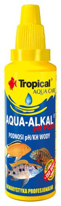 Pielęgnacja akwarium TROPICAL Aqua-alkal ph plus 30 ml